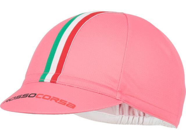 Castelli Rosso Corsa Fietspet, giro pink
